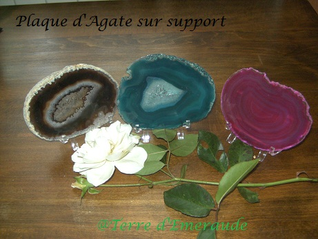 Agate et support