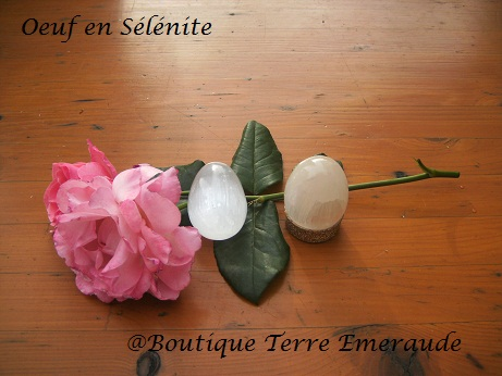 oeufs en selenite